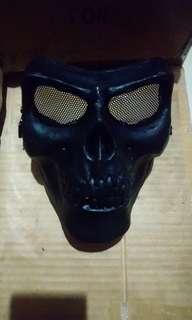 War game 骷髏面罩
