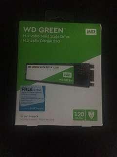 WD GREEN SATA SSD 120GB