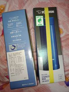 🚚 象印SM-AGE50 保溫瓶0.5L(可換物)