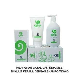 Shampo tanpa minyak silikon