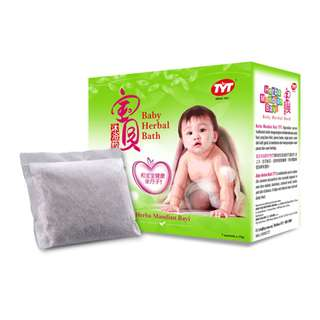 TYT BABY HERBAL BATH (7 SACHETS X 15G)