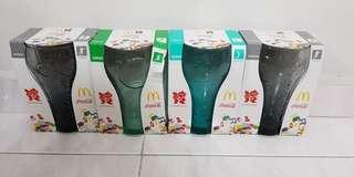 Cocs cola glass