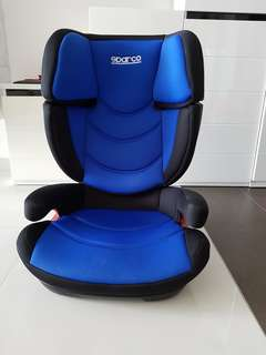 SPARCO F700i ISOFIX Booster Car Seat