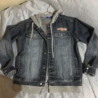 Authentic Keds Denim Jacket with Hood