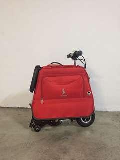 Luggage size foldable E-Scooter