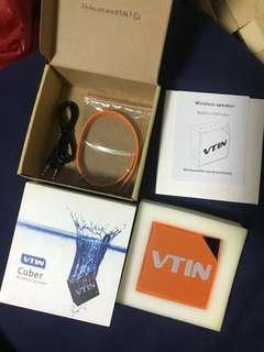 Vtin cuber IP67 waterproof Bluetooth speakers