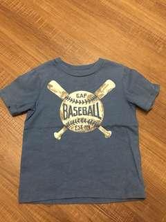 Gap 棒球 T
