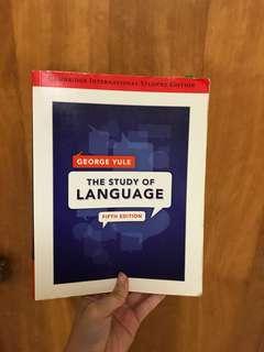 The study of language 英語語言學用書