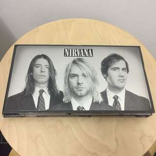"""Nirvana """"With The Lights Out"""" Cd's Dvd's Boxset"""