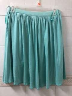 Forme green skirt