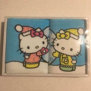 Hello Kitty Uchino Towel Gift Set