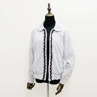🚚 HANA MOKUBA花木馬 淡藍色純棉外套 專櫃正品  100%純棉