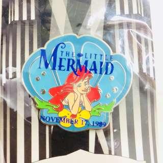 美國迪士尼 Disney  The Little Mermaid / Ariel 小魚仙 美人魚 pin 襟章 徽章