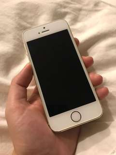 Used iPhone 5s 64gb White Gold