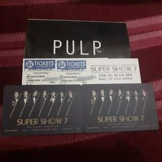 Super Junior Super Show 7 Lowerbox Tickets