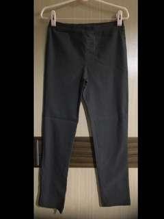 NET KIDS 灰色 彈性布料 長褲