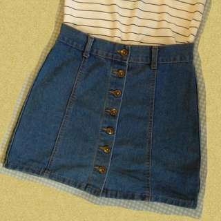 Denim Skirt ♡