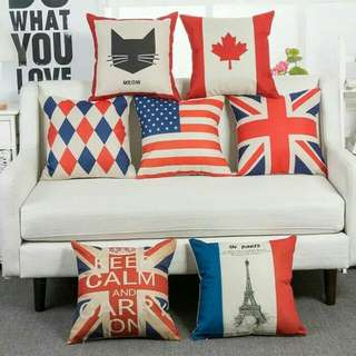 FLAGSERIES Sarung Bantal Kursi Sofa