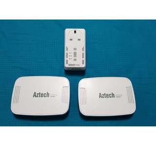 Aztech Homeplug AV 500Mbps Bundle (1 x HL115EP, 2 x HL125G)