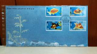 1993 Hong Kong Gold Fish First Day Cover.
