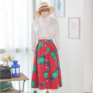 🍿 Vintage Midi Skirt VS1412