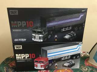 Transformers trailer MPP10 n MPP10b