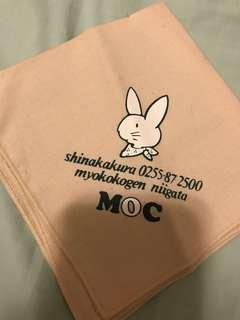 兔仔圖案手布 handkerchief (日本手信)