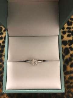 750/18k真鑽石戒指併石款