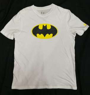 (XL) Under Armour Batman kids