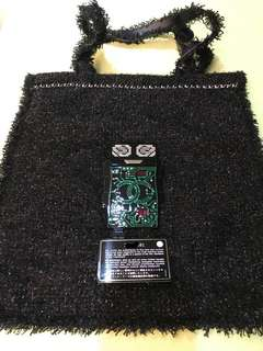 保證真品:Chanel機械人袋限量版Tote Bag95%new