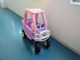 Little Tikes Princess Cozy Truck Pink Colour (Preloved)