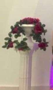 結婚裝飾 - 花柱一對