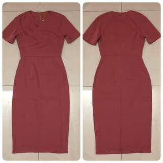 Love Bonita  Dress (Rose Pink)