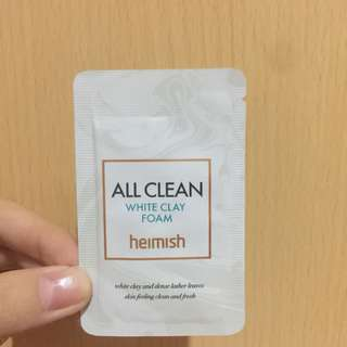 Heimish All Clay Clean White Foam - Trial Size