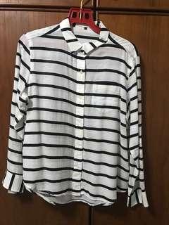 LOWRYS FARM Striped Shirt - Size L