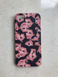 NEW Iphone 5 hard case - Kimoji