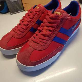 Brand New Gola Shoes 9.5 (Red/blue)
