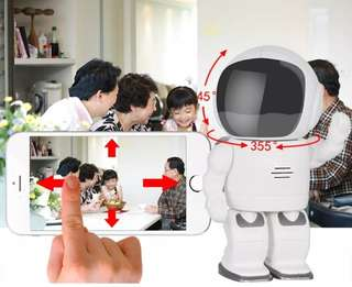 (83584) Wifi Cctv camera (robot design)