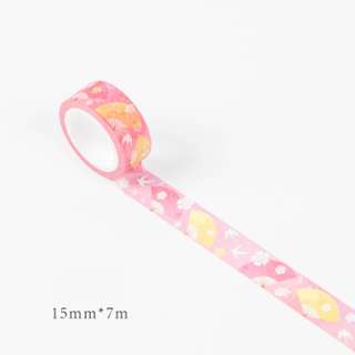 [INSTOCKS] PINK Seasons Floral Themed Washi Tape