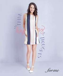 Forme striped dress