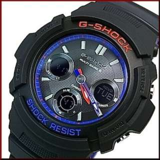 only hk$829, 100% new Casio G-Shock AWG-M100SLT-1AJF Layered Black Tricolor Men Watch AWG-M100SLT-1A手錶