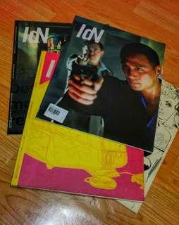 4 pcs IDN magazine