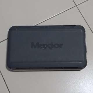 Maxtor 320GB Ext HDD