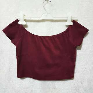 Forever 21 suede offshie