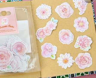 Flower Bloom Scrapbook / Planner Stickers #130