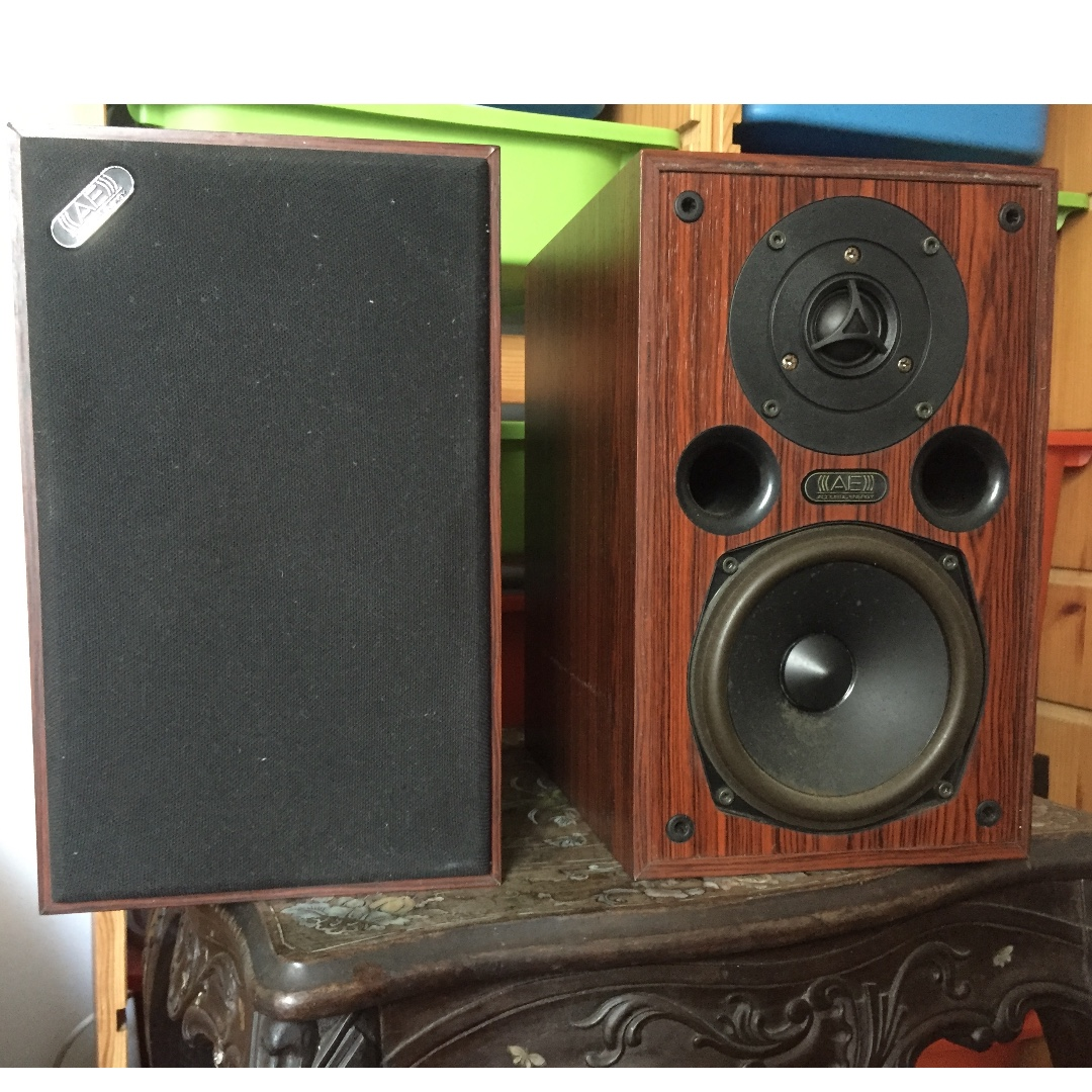 Acoustic Energy Bookshelf Speakers Electronics Audio On Carousell