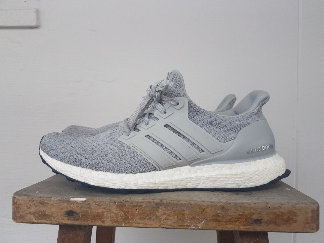 61c171bd92119 Adidas ultraboost 4.0 Grey Authentic