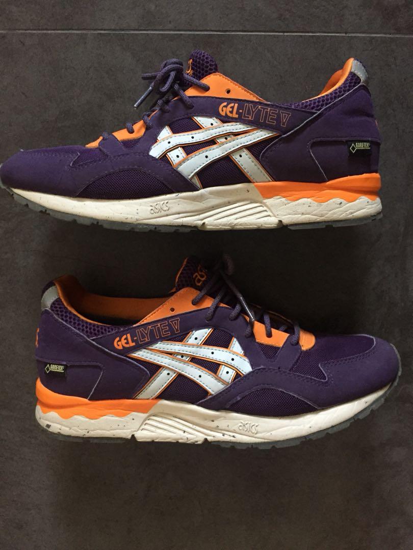 sports shoes b19b2 bc3a4 Asics gel lyte V, size US 8.5, royal purple/ gold colorway ...