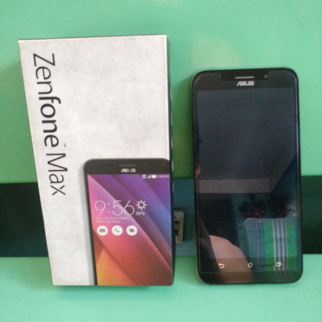 Asus Zenfone Max Zc550kl 2gb 16gb Lte Mobile Phones Tablets On 2 32gb Black Carousell