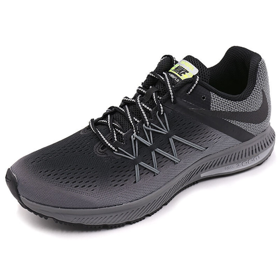 e95b2ee3 Authentic New Arrival NIKE ZOOM WINFLO 3 SHIELD Men's Breathable ...